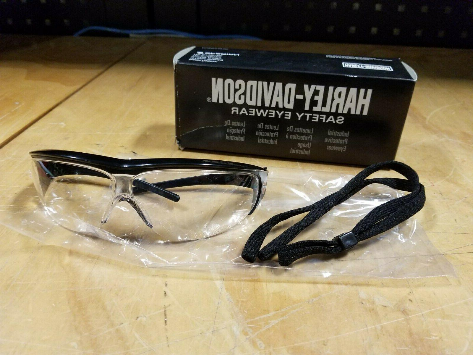 hd400 clear lens scratch resistant safety glasses