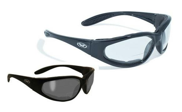 hercules 1 bifocal safety glasses clear