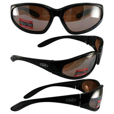 Hercules UNBREAKABLE Safety Sunglasses-Driving Mirror Lenses