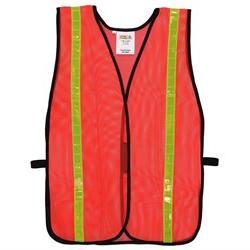 Hi Vis Mesh Safety Vest in Orange