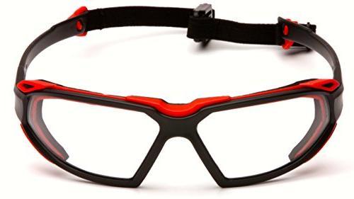 Pyramex Black-Red Anti-Fog Lens