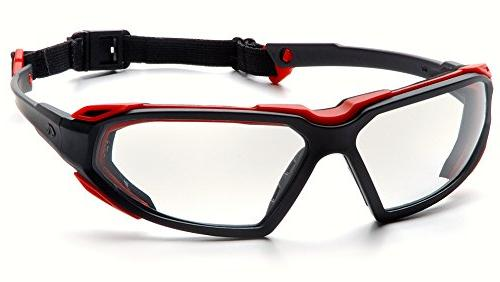Black-Red Frame/Clear
