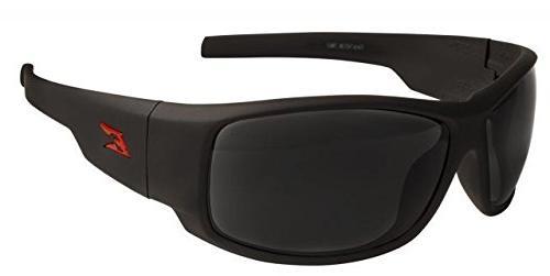 Edge Eyewear HZ136 Caraz Torque Matte Black / Smoke Lenses -