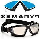 Pyramex I Force Slim Clear Mirror Dual Anti Fog Lens Safety