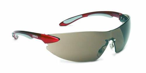 ignite red metallic frameless anti fog tinted