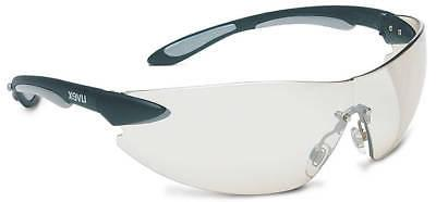 ignite safety glasses with black silver frame