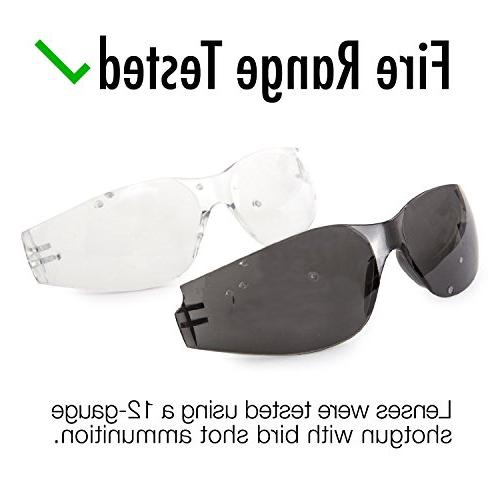 TRUST OPTICS Impact Safety Clear Lenses Colors
