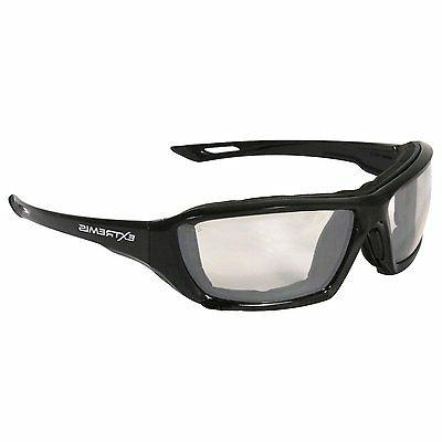 Radians Indoor/Outdoor Safety Glasses, Anti-Fog, Foam Lined,