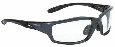 CrossFire Safety Glasses Clear Lens with Gray Frame