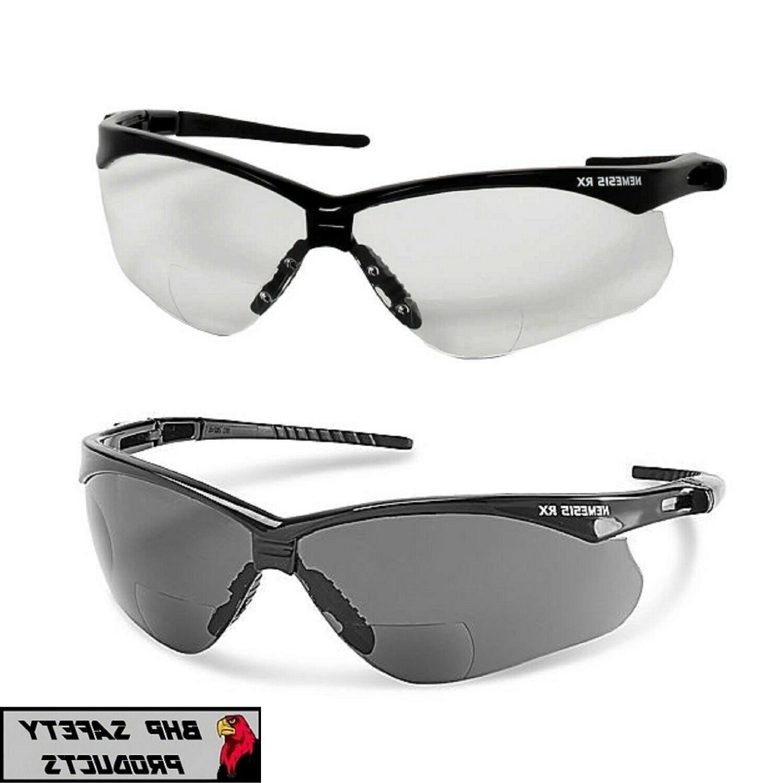 inner bifocal safety reading sunglasses glasses sun