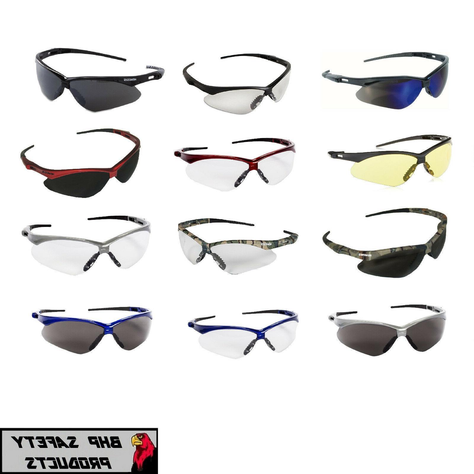 jackson nemesis safety glasses work eyewear sunglasses