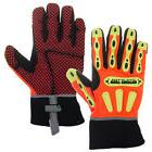 West Chester Kevlar Lined Safety Work Gloves Synthetic Leath
