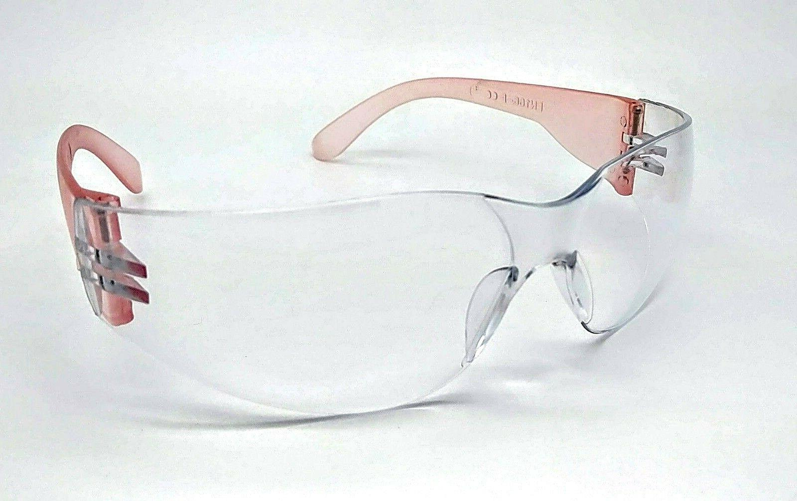 ladies women s pink painting safety glasses