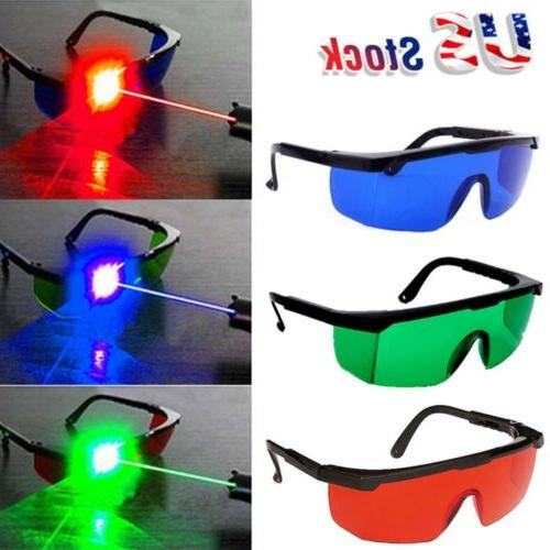 Laser Eye Protection Safety Glasses Goggles Red/Green/Blue f