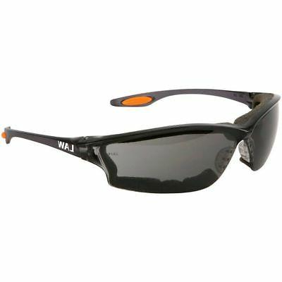 Crews Law 3 Safety Glasses Gray Anti-Fog Lens and Foam Seal