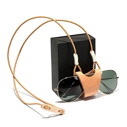 leather sunglasses store safety rope