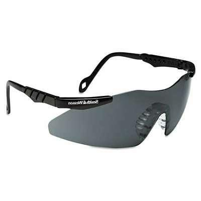 Smith & Wesson Magnum 3G Safety Eyewear, Black Frame, Smoke