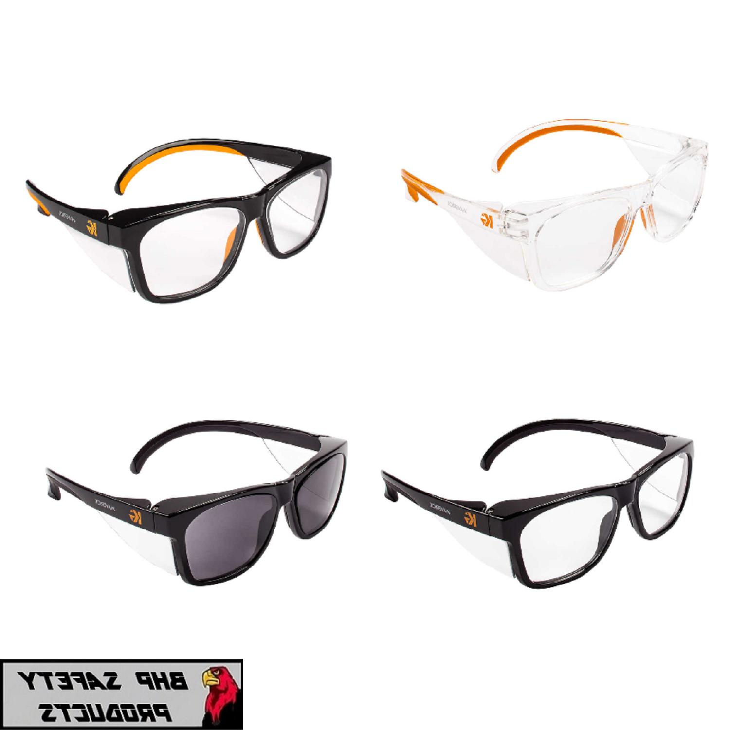 maverick safety glasses with integrated side shields