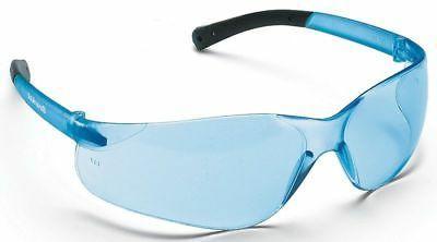 MCR Crews BK113 Bearkat Safety Glasses Blue Lens, 1 Pair