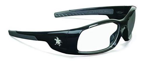 mcr crew swagger safety glasses clear lenses