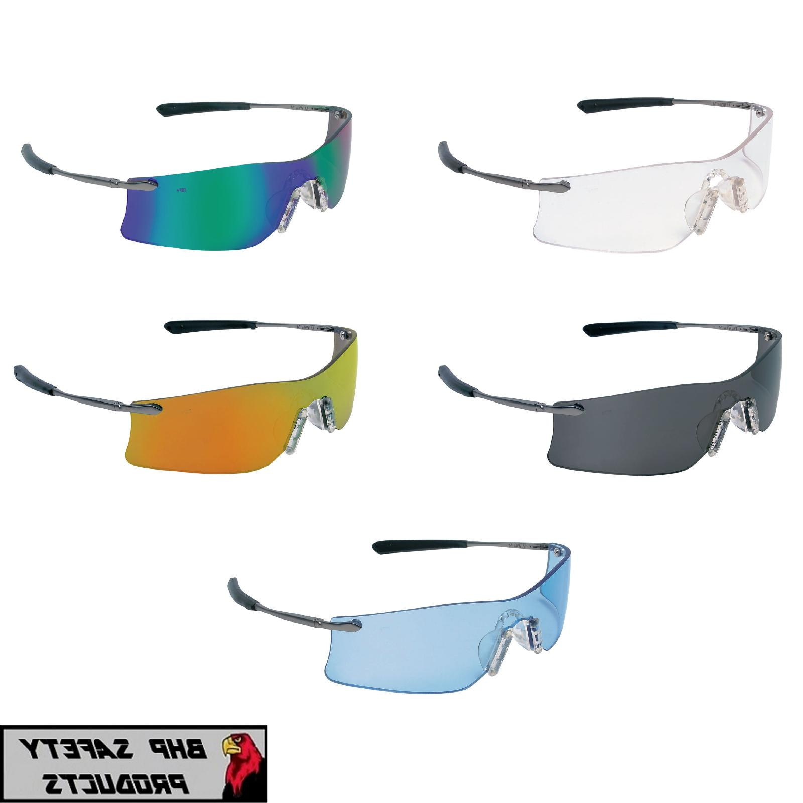 mcr crews rubicon safety glasses sunglasses metal