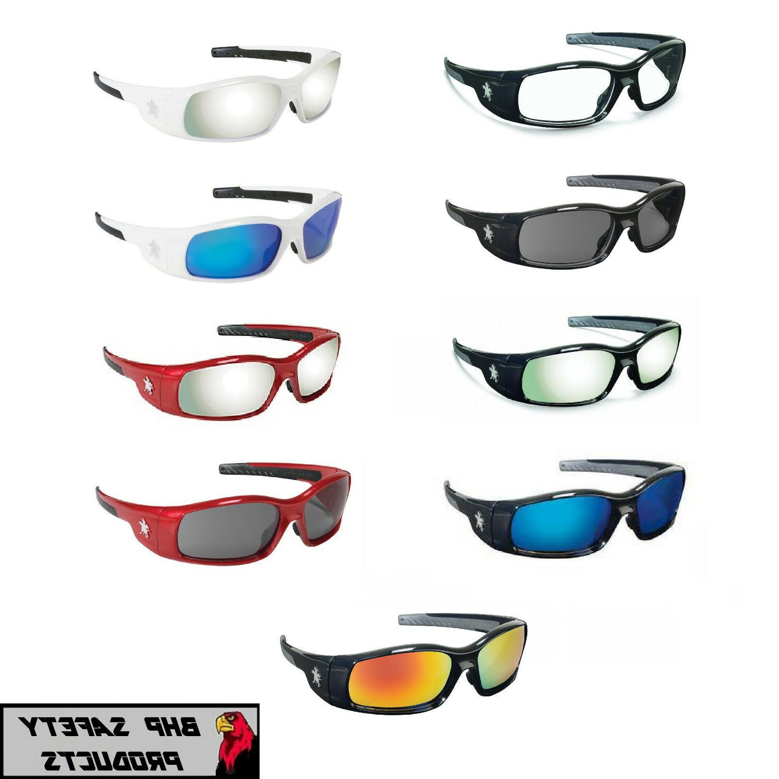 mcr crews swagger safety glasses sunglasses work