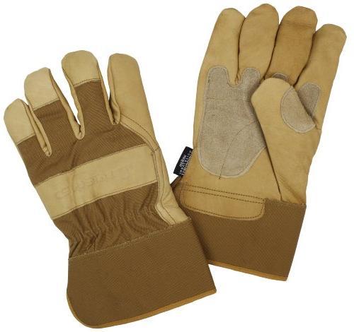 insulated grain leather work glove