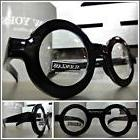 Men's VINTAGE RETRO Style Clear Lens EYE GLASSES Thick Round