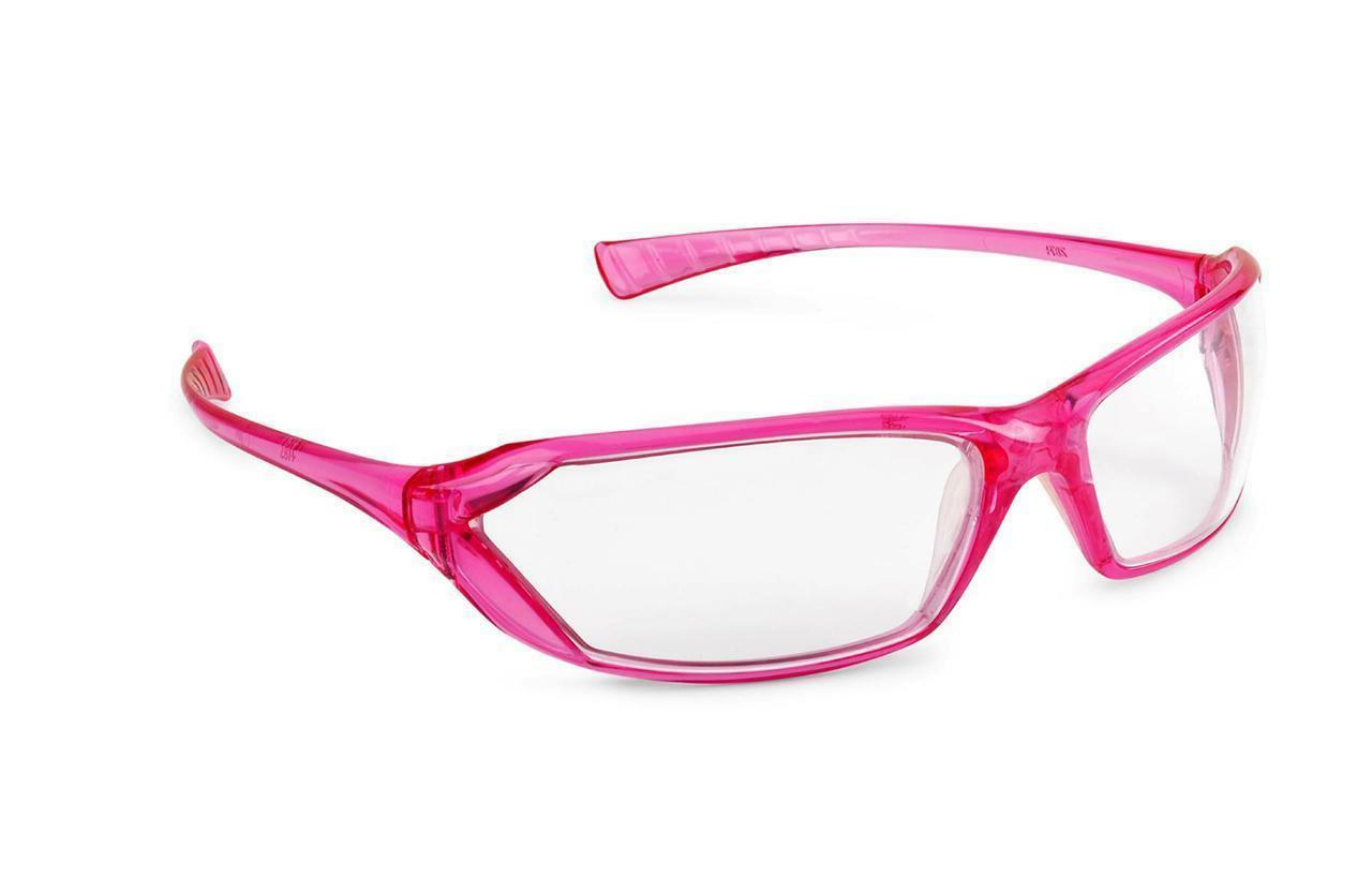 Gateway Metro Pink Frame Clear Lens Safety Glasses Womens Gi