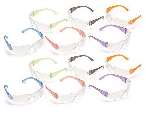 Pyramex S4110SMP Intruder Safety Glasses Clear with
