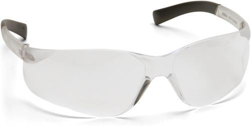 Pyramex Mini Ztek Safety Eyewear, Clear Lens With Clear Fram