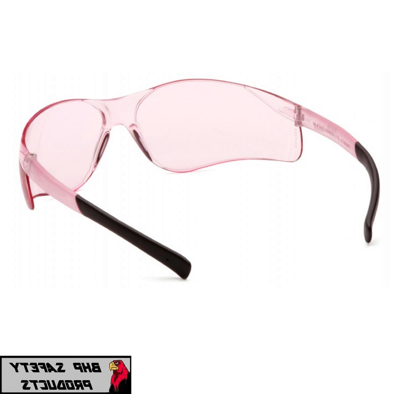 PYRAMEX MINI PINK LENS SIZE SMALL GLASSES S2517SN Z87+