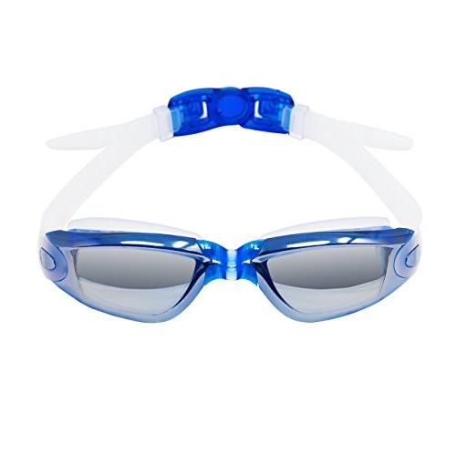 mirror swimming goggles anti fog