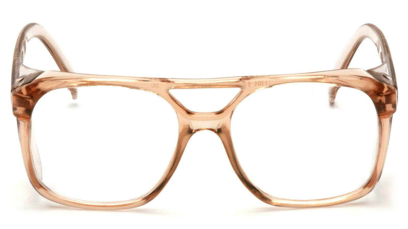 Pyramex Caramel Aviator Glasses