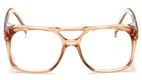 Pyramex Safety Glasses, Caramel Frame Lens