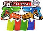 MTS Laser Tag Blasters for Kids Red, Green, Blue & Yellow 4P