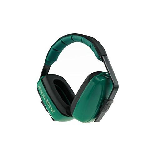 Bone Muzzle Earmuff, Green, One