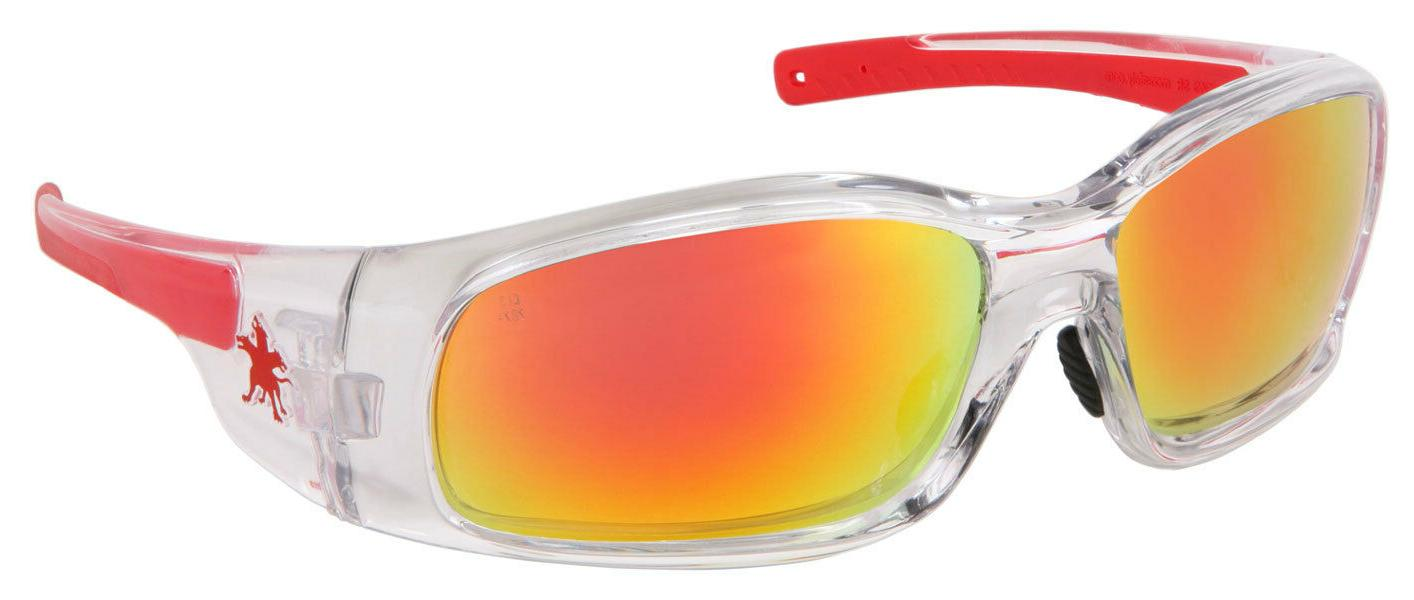 new swagger safety glasses clear frame fire