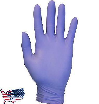 Nitrile Exam Gloves - Medical Grade, Powder Free, Latex Rubb