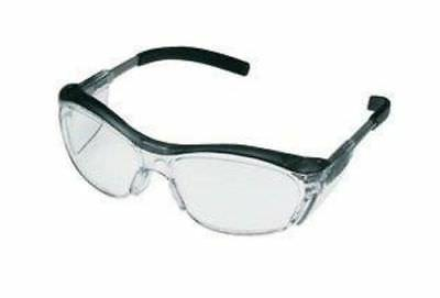 nuvo anti fog safety glasses translucent gray