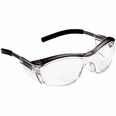 nuvo reader safety glasses with clear bifocal