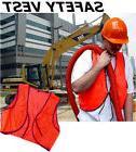 Orange Safety Vest Construction, Hunting, School, New!!