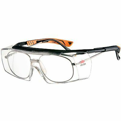 over glasses safety glasses with clear anti