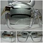 Men or Women OVERSIZE VINTAGE NERD Clear Lens EYE GLASSES Tr