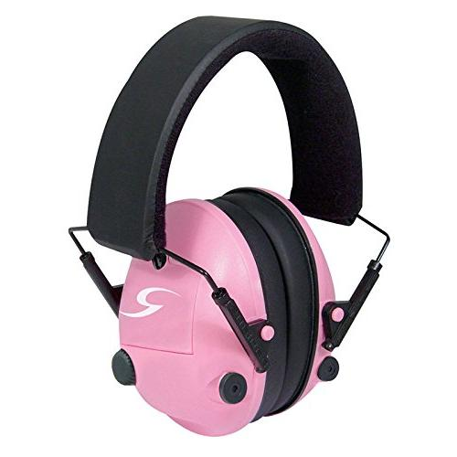 pink amp electronic ear protection