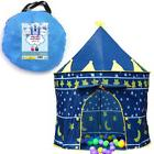 Children Play Tent Boys Girls Prince House Indoor Outdoor Bl