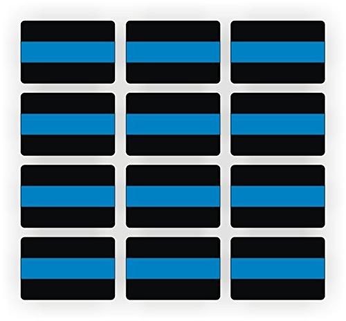 police thin blue line decals