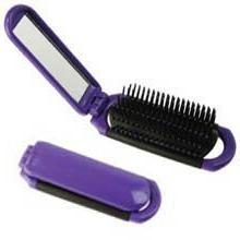 Pop Up Hair Brush With Mirror * Each by Cache Beauty
