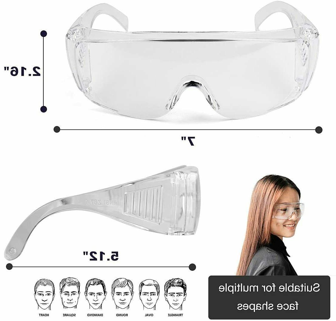 Protective Safety Anti-fog/Anti-Scratch Glasses