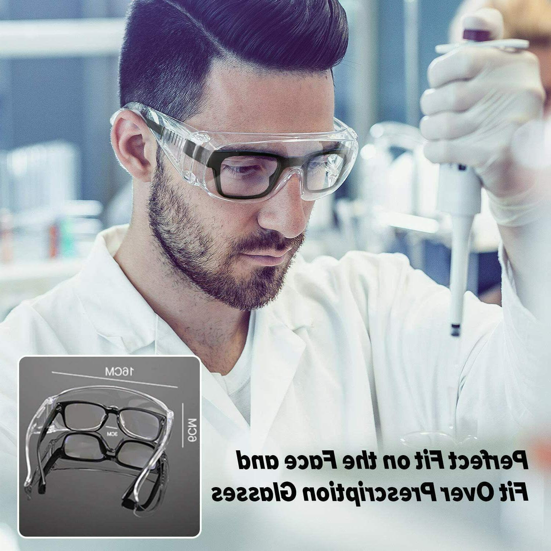 Protective Goggles - Anti-fog/Anti-Scratch over